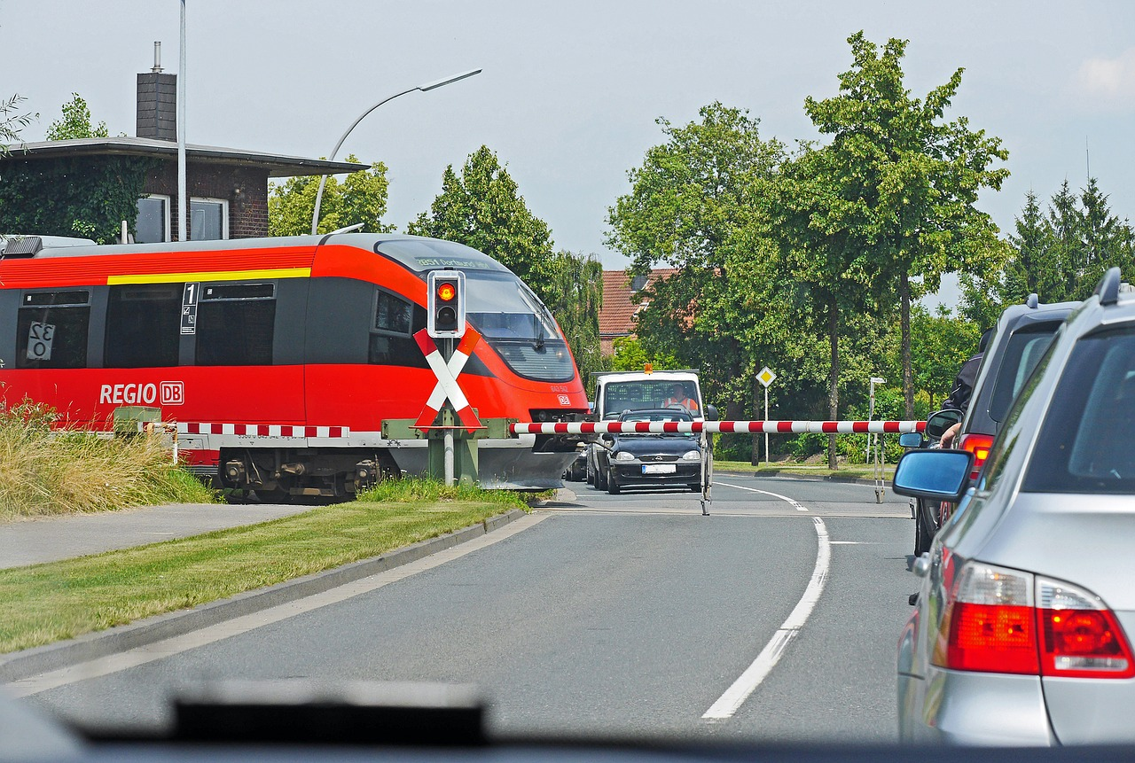 Проезд железнодорожных переездов